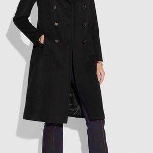 Brand New Coach Wool Coat, 8